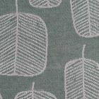 Jacquardi-tafelzeil-tafellinnen-bladeren-bloemen-croco-groen-grijs-natuur