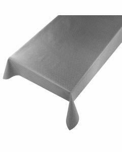 grijs-linen-tafelzeil-jacquard-diamond-tafellinnen