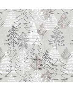 kerstboom, grijs, wit