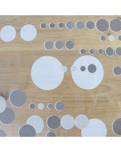 cirkels-star-tafelzeil-transparant