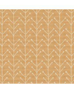 tafelzeil-jacquardi-180cm-modern-retro-geel-oker-speels-saffron