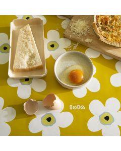 tafelkleed-big-flower-lola-geel