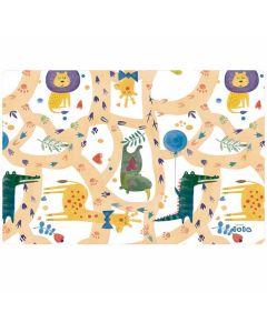 lola-placemats-afwasbaar-speels-safari-dieren-roos-vrolijk-kinderen