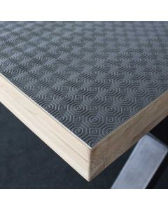 Tafelbeschermer-grijs-pvc-140cm